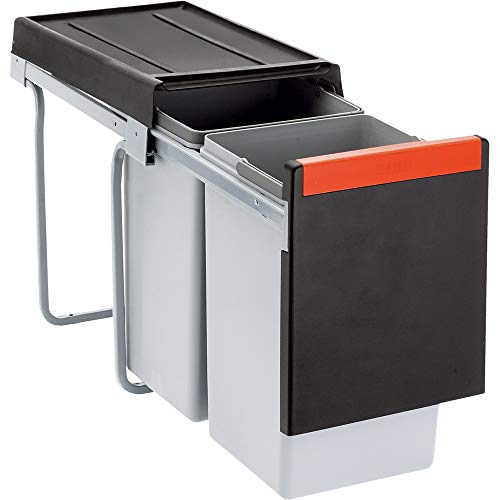 FRANKE Sorter Cube 30 / Handauszug Abfalltrennsystem / 2 x 15 l Behälter / 134.0039.553