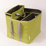 Recycling Tasche hellgrün Mülltrennung